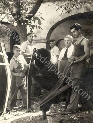 El capataz de Hijos de Jiménez Varela, José Luis González Obregón