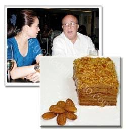 Tarta Imperial Rusa y Juan Carlos Terry