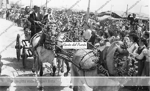 cochecaballos_feria_1960_puertosantamaria