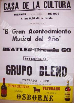 cartel_blend_beatles_1976_puertosantamaria