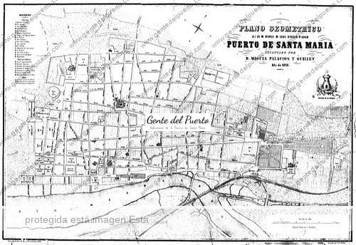 plano_1845_puertosantamaria