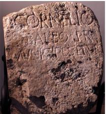 inscripción Balbo
