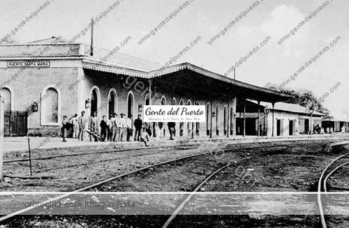 Excursion en el puerto hace 100 a os gente del puerto - Estacion de tren puerto de santa maria ...