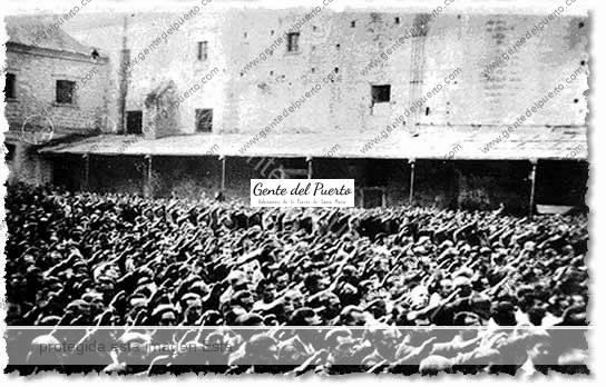 Historia de espa a una clase en el antiguo penal de el puerto gente del puerto - Estacion de tren puerto de santa maria ...