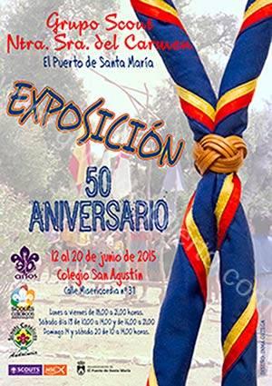 cartel_expo_scouts_50_puertosantamaria