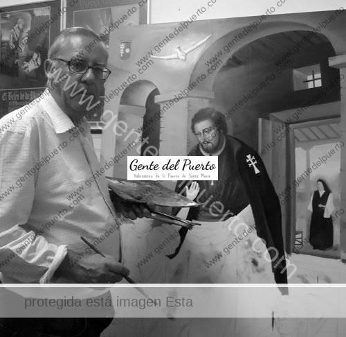2.693. José Fernández Villegas. Nueva obra pictórica para el Convento del Espíritu Santo.