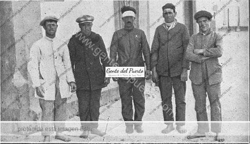2.737. El Puerto de luto, por la muerte de cuatro marineros.1928. (Y Parte II)