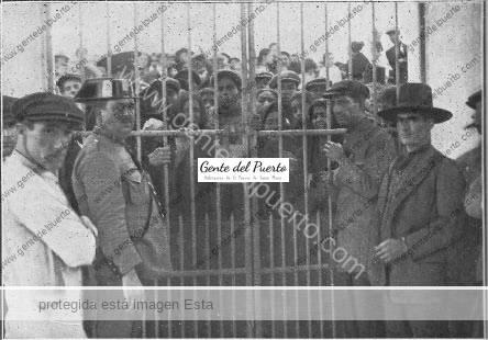 2.736. El Puerto de luto, por la muerte de cuatro marineros. 1928. (Parte I)