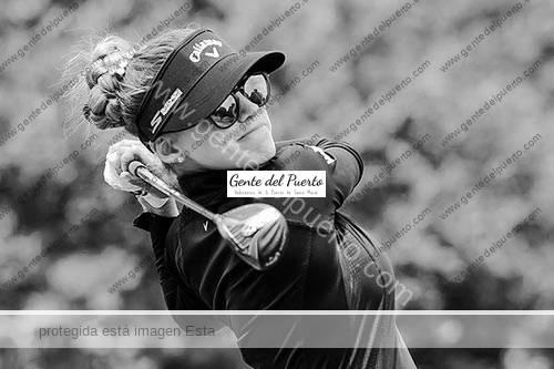 2.828. Belén Mozo. La golfista portuense remata una semana grande en Michigan (EEUU)