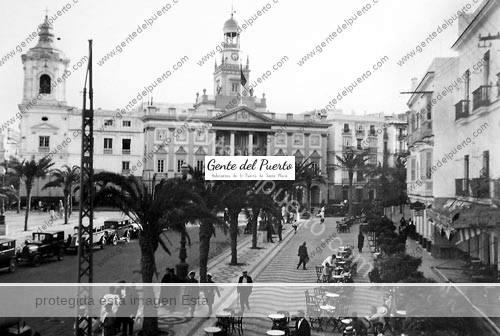 Plaza-San-Juan-de-Dios-anos30-cadiz-puertosantamaria