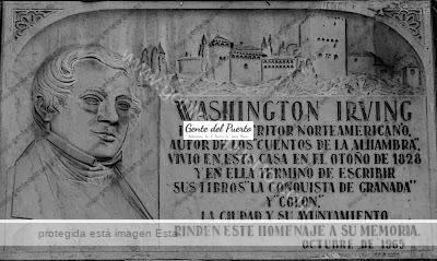 2.810. Washington Irving. Ilustre huésped de El Puerto.