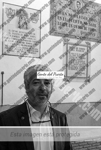 2.831. José Carlos Galán Jiménez. Arquitecto autor y director de la reforma de la Real Plaza de Toros.