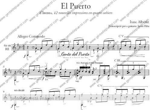 2.875. Isaac Albéniz y 'El Puerto'. (II).