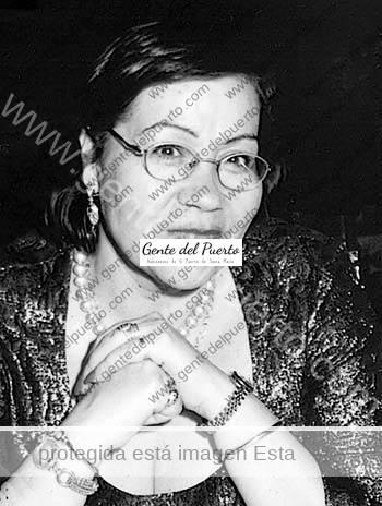 2.868. Mercedes Toronjo Soler. Presidenta de la Peña Flamenca 'El Chumi'.
