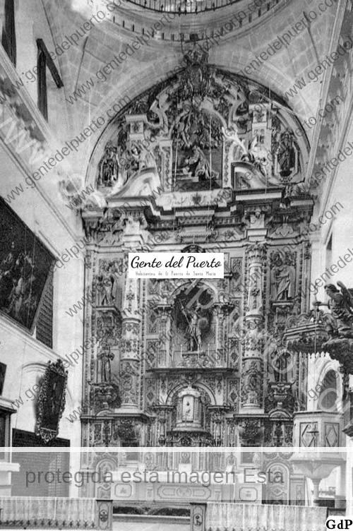 2.922. Las Capuchinas. El desaparecido retablo de San Miguel.
