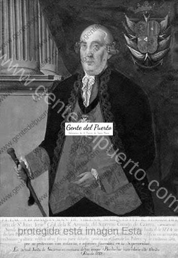 2.945. El Marqués del Real Tesoro. Fundador de un hospital en El Puerto.