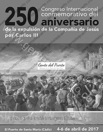 2.950. El Puerto, en el 250 aniversario de la expulsión de los jesuitas por Carlos III