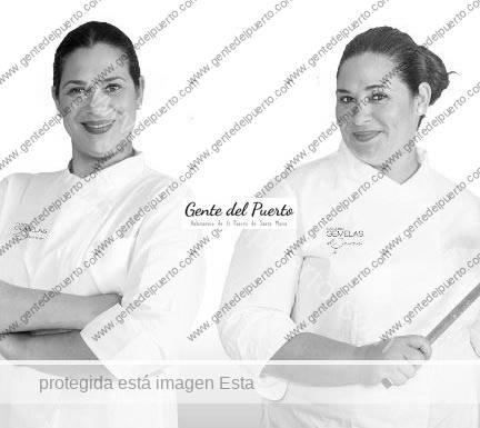 2.967. Raquel y Virginia Naranjo. Las gemelas de Master Chef, en la Hacienda La Torre.