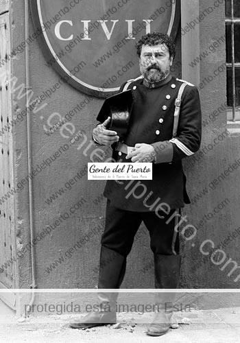 2.996. Paco Tous. El sargento Giralda en la T2 de la serie 'Victor Ros'