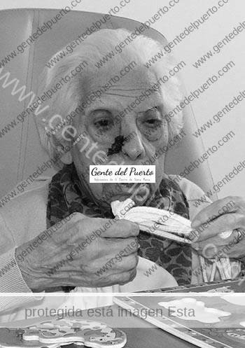 3.018. María Pulido Martín cumple cien años.