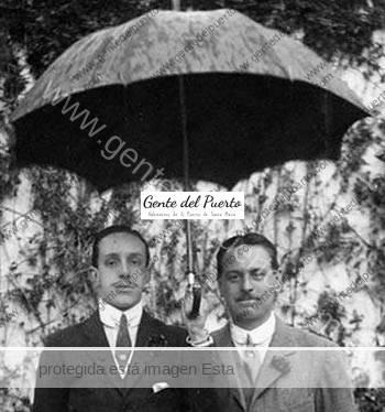 3.037. José Saavedra y Salamanca, II Marqués de Viana. Estudiante en El Puerto.