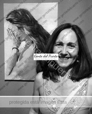3.081. Lola Caballero. Exposición: Inflexiones y perfiles.