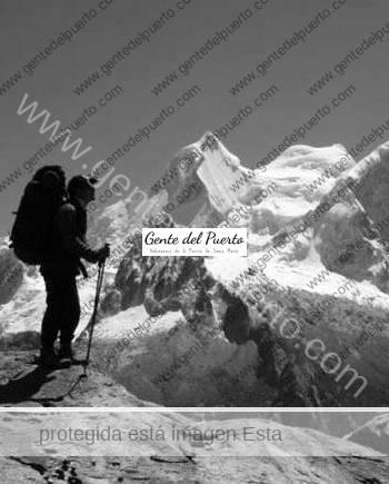 3.114. Manuel Caballero Galán. Alpinista fallecido en la Cordillera Blanca peruana.
