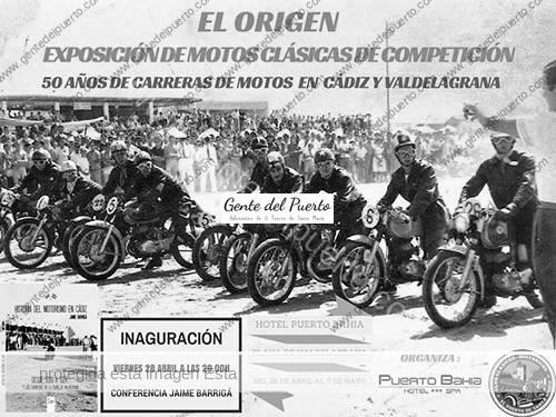3.141. Exposición y Conferencia: 50 años de motos en Cádiz y Valdelagrana.