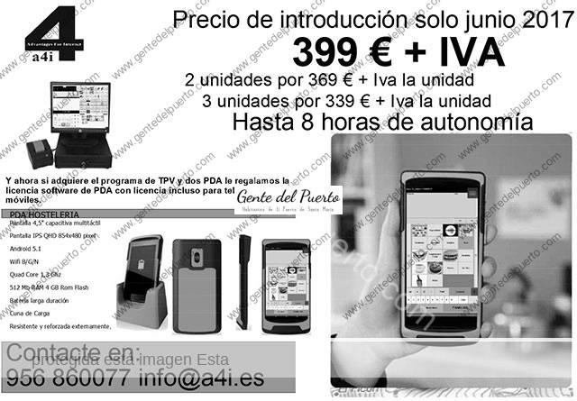 Oferta de Informática para hostelería solo en Junio 2017