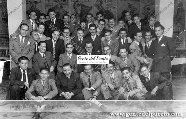 3.177. Despedida de Manuel Torres Vallejo. Director del Banco Hispano Americano. 1947.