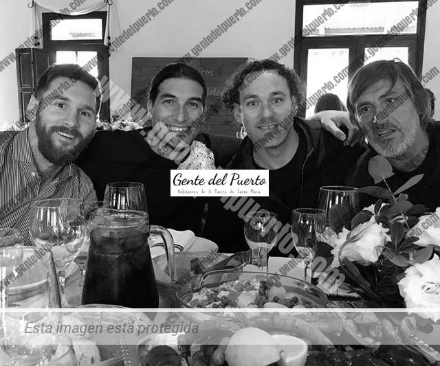 3.200. El portuense Pinto, en la boda de Lionel Messi y Antonella Roccuzzo