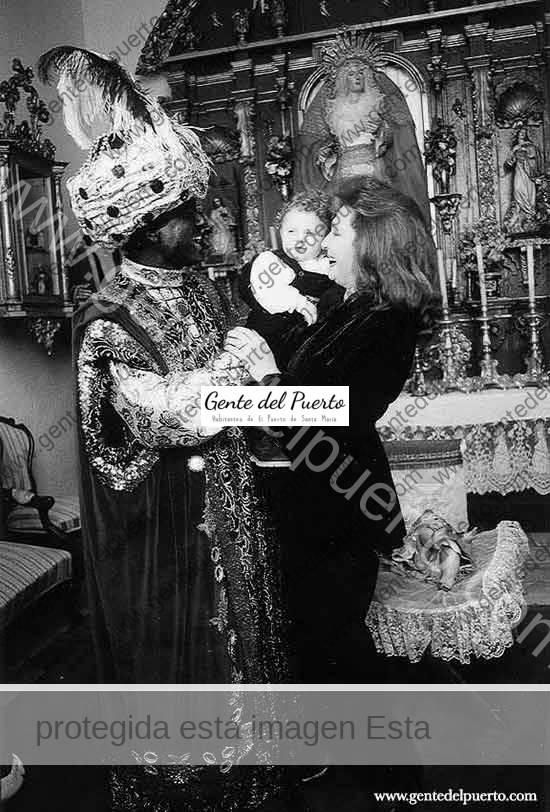 3.485. 1998: El año que Ortega Cano fue Rey Negro en El Puerto de Santa María, acompañado de Rocío Jurado.