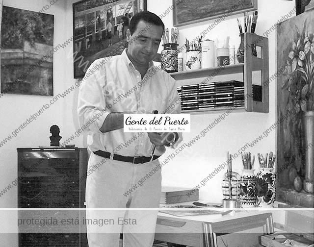 3.505. José Manuel Perea Perdiguero. Autor del Cartel de la Semana Santa de Cáceres 2018.