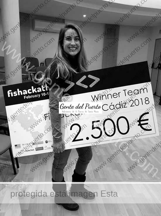 3.536. Mireya López Mesa. Ingeniera Informática. Premio Internacional de Fishackathon