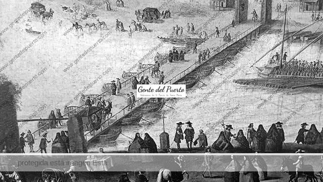 3.529. El mayor accidente de la historia moderna de El Puerto. Inauguración del puente sobre el Guadalete: desplome, hundimiento y muerte de los asistentes