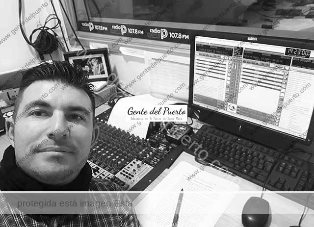 3.558. Daniel Borne Díaz. Técnico de Sonido de Radio Puerto