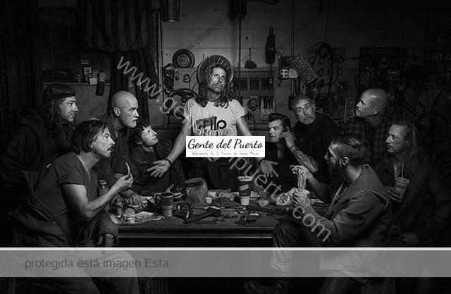 3.568. Ángel León. La Última Cena de los Apóstoles Portuenses
