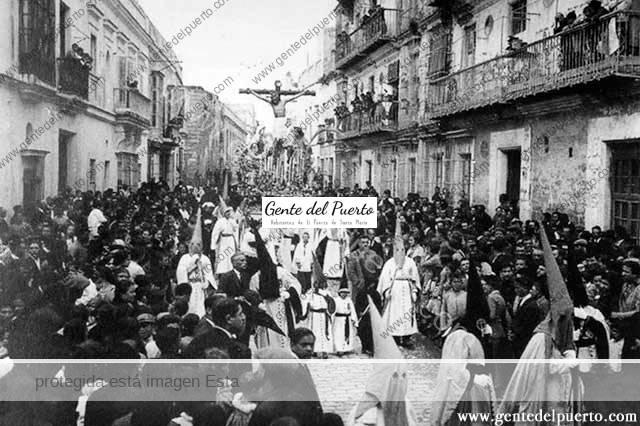3.565. La Semana Santa en El Puerto hace 100 años. 1918