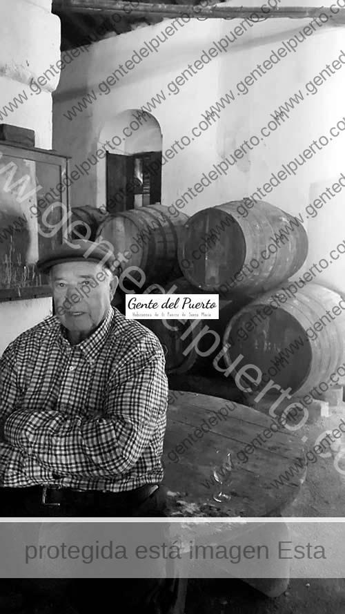 3.595. Francisco Barba González. 'Curro de la Blanquita', proveedor oficioso de Vino Fino a la Casa Real