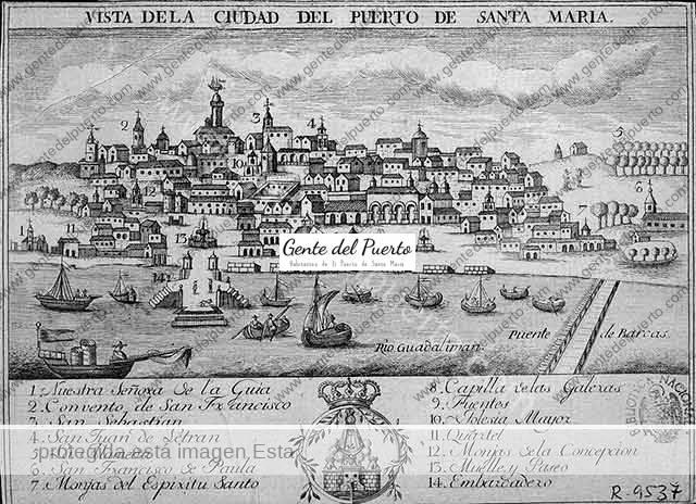 3.579. Los gitanos del Puerto de Santa María. Condenados a la mina de Almadén. Año 1745