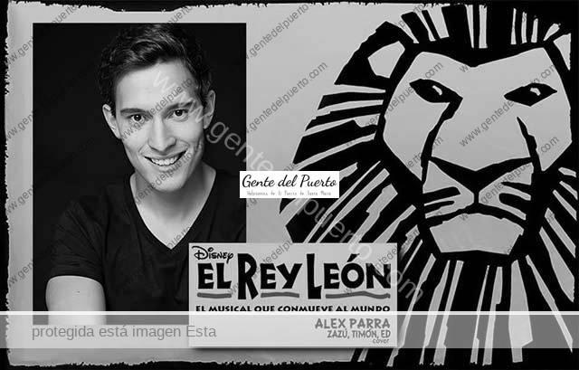 3.615. Alex Parra García. Próximo trabajo en el musical 'El Rey León'