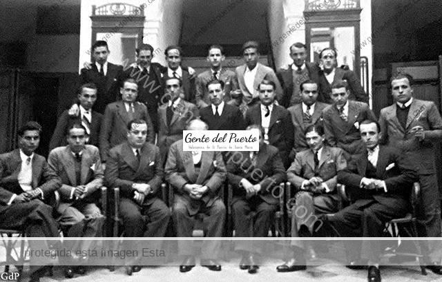 3.645. Reunión en el Hotel Vistalegre. Año 1933