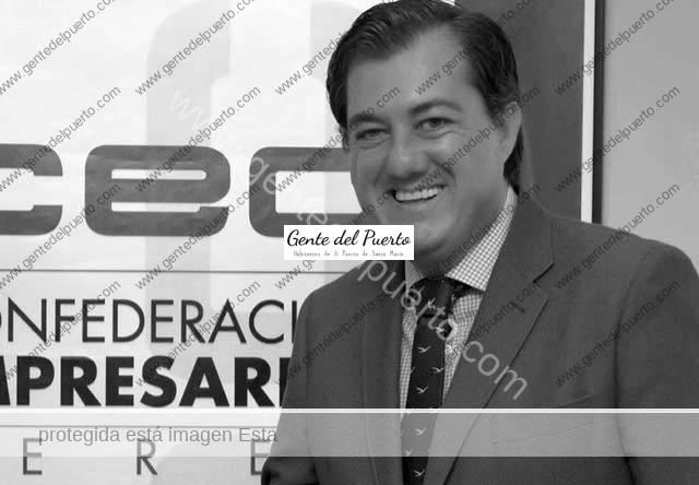 3.658. Gonzalo Ganaza Parra. Presidente de la Confederación de Empresarios de Cádiz de Medio Ambiente