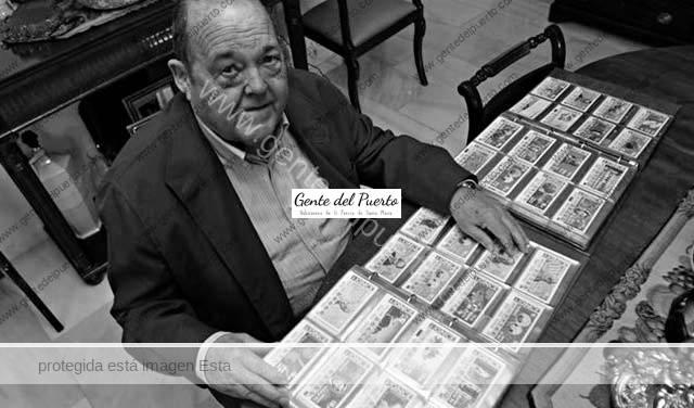 3.644.Luis Manuel Osborne Tosar. Una colección de cupones de la ONCE, con 10.450 ejemplares