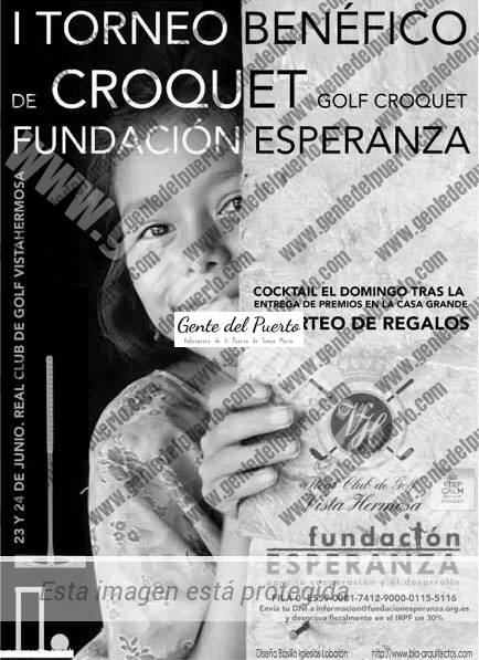 3.653. Primer Torneo de Croquet Solidario Fundación Esperanza
