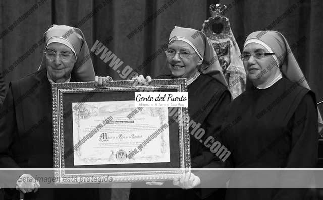 3.672. Las Hijas de Sor Juana Jugan (Hermanitas de los Pobres). Medalla de Oro de la Ciudad