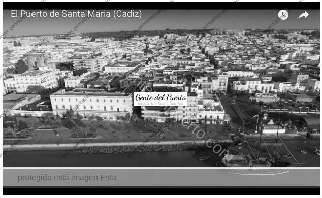 3.709. El cantil del muelle, el río Guadalete y el casco antiguo a vista de pájaro