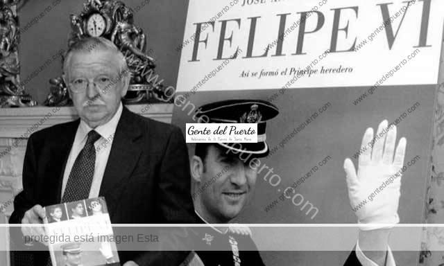 3.698. José Antonio Alcina del Cuvillo. Secretario y preceptor de Felipe VI, muere en El Puerto