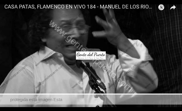 3.704. Manuel de los Ríos. 'El Pititi', en Casa Patas (Madrid)
