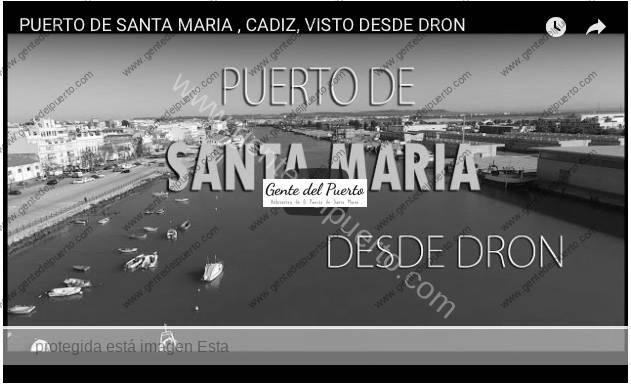 3.703. El Puerto, visto desde un dron phantom 3